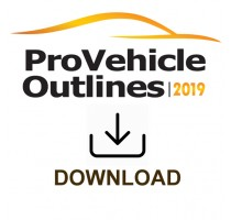 Pro Vehicle Outlines 2019 Online 12 Month Subscription