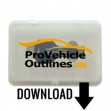Pro Vehicle Outlines 2018 Online 12 Month Subscription