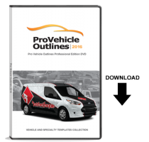 Pro Vehicle Outlines 2016 Online 12-Month Subscription