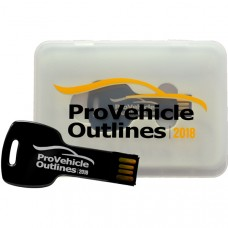 Pro Vehicle Outlines 2018 Pro Edition