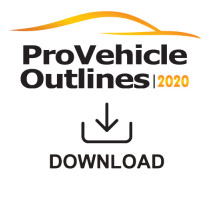 Pro Vehicle Outlines 2020 Online 12 Month Subscription
