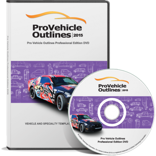 Pro Vehicle Outlines 2015 Professional Edition