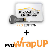 Pro Vehicle Outlines 2021 Pro Edition + PVO WrapUP