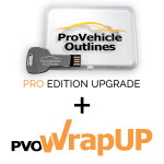 Pro Vehicle Outlines 2021 Pro Edition UPGRADE + PVO WrapUP